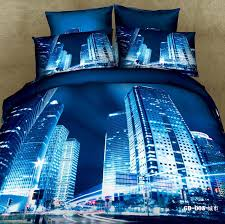 New York City Duvet Cover 3d Bedding Sets Modern City Reactive Printing Comforter Set Duvet