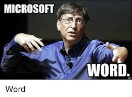 Microsoft Word Meme - microsoft word ap word word meme on sizzle
