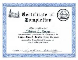 certificate of completion free template word certificate for completion gse bookbinder co