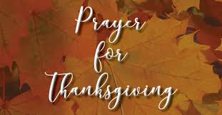 prayer for thanksgiving epworth united methodist church