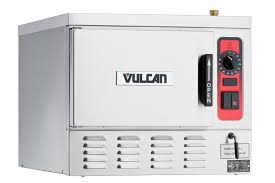 vulcan c24ea3 bsc 24 in 3 pan electric counter convection steamer