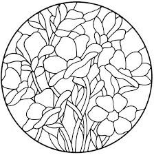 Flower Glass Design 1725 Best Stained Glass Patterns Images On Pinterest Stained