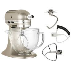 Kitchenaid Artisan 5 Qt Stand Mixer by Kitchenaid Deluxe Edition 5qt 325 Watt 10speedtilthead Stand Mixer
