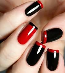 red and black nail polish designs mailevel net