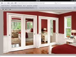 Mirrored Closet Door by Bedroom Barn Door Closet Sliding Mirror Closet Doors For