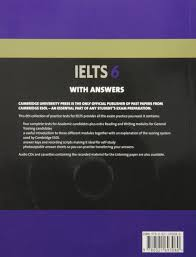 cambridge ielts 6 self study pack examination papers from