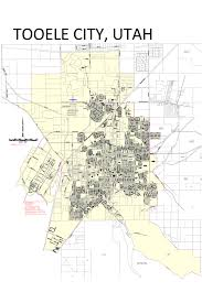 Utah City Map by North Tooele City Special Service District Tooele City