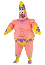 patrick star costume inflatable spongebob squarepants escapade uk
