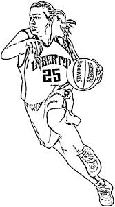 coloring pages basketball players murderthestout