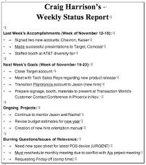 sample weekly report construction weekly report template