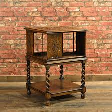 Rotating Bookcases Edwardian Revolving Library Bookcase U2013 London Fine Antiques