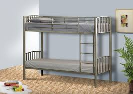 Metal Small Single Bunk Bed In Ft Bunk Metal Frame White Black - Small bunk bed mattress