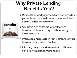 putting your money to work through private lending ppt video