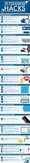 15 cleaning hacks infographic baking soda soda and infographic