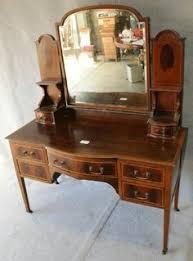 Vanity Tables Tocador Modernista Con Espejo Batiente Antigüedades Muebles