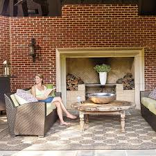 Southern Hearth And Patio Fall U0027s Best Outdoor Rooms Southern Living