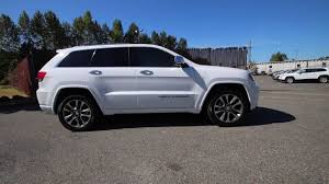 jeep grand cherokee 2017 2017 jeep grand cherokee overland bright white clearcoat