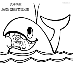 printable jonah whale coloring pages kids cool2bkids
