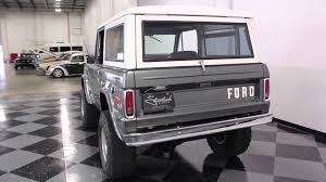 ford bronco 1970 1335 dfw 1970 ford bronco youtube