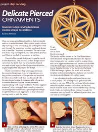 ornaments chip carving patterns woodarchivist