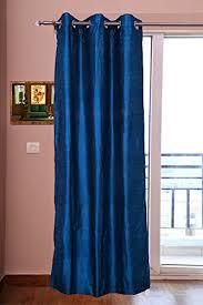 Blue Silk Curtains Pure Silk Curtains 40