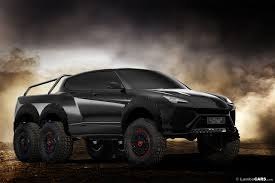 suv lamborghini interior a lamborghini urus 6x6 would make that mercedes look tame