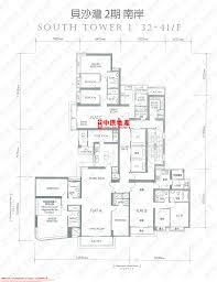bel air floor plan centadata phase 2 south tower residence bel air
