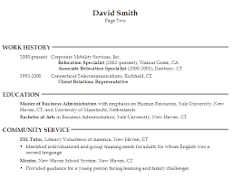 Samples Of Resume Formats by Resume For A Generalist In Human Resources Susan Ireland Resumes