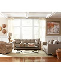 2 Sofas In Living Room by Michelle Fabric Sofa Living Room Furniture Furniture Macy U0027s