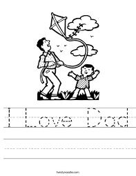 dad worksheets worksheets