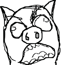 Cute Meme Faces - making a pig face funny faces pictures clip art library
