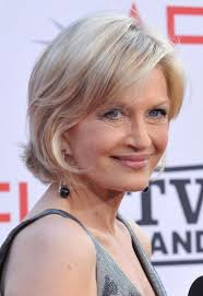 hairstyle for 60 something can you carry off a light blonde like 60 something diane sawyer