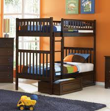 Columbia Full Over Full Bunk Bed by Sustainable Columbia Full Over Full Bunk Bed In Natural Maple