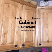 Kitchen Cabinet Supplies How To Replace Kitchen Cabinet Hardware Diy Tutorial