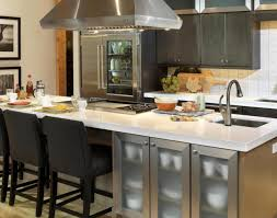 stationary kitchen island with seating kitchen wonderful modern kitchen island with seating wonderful