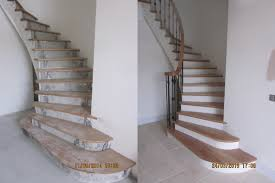 concrete stairs curved stairs and bespoke furniture