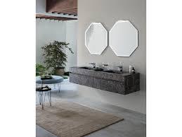 armadietto bagno con specchio mobile bagno con specchi ottagonali by rab arredobagno nuovo a