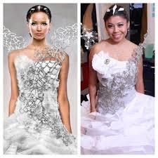 make katniss everdeen u0027s wedding dress for ten dollars adafruit