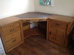 Solid Oak Corner Desk Halo Montana Solid Oak Corner Desk In Bournemouth Dorset Gumtree