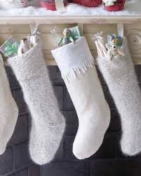stockings christmas stockings with wool felt icicles martha stewart