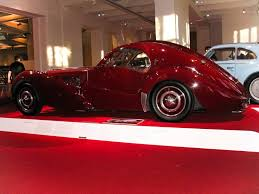 bugatti atlantic bugatti type 57sc atlantic coupe side