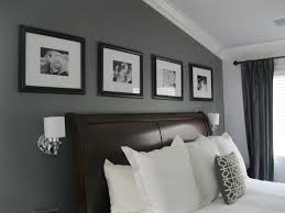bedroom bedroom grey color blue interior paint gray white