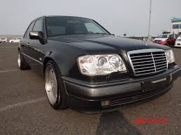 1994 mercedes benz 500e in blue black and 17