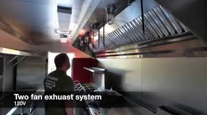 food trailer exhaust fans food truck concession trailer grease hood review youtube