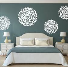 bedroom wall stickers poppy wall decals trendy wall designs