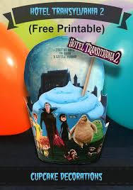 hotel transylvania cake toppers free hotel transylvania 2 printable cupcake toppers decorations