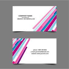 business card design template vector public domain vectors