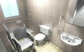 Handicap Bathroom Designs Handicapped Bathroom Designs Simple Kitchen Detail
