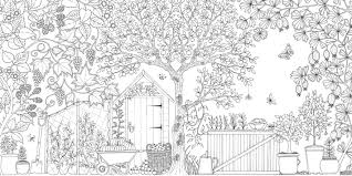 secret garden an inky treasure hunt and colouring book amazon co