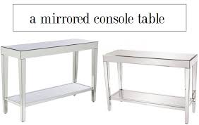 Target Console Tables Budget Friendly Options For A High Style Home U2014 The Decorista